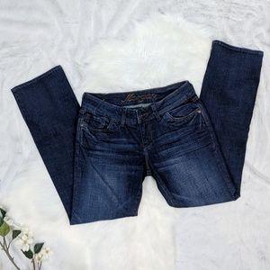 Delia's Morgan dark wash bootcut jeans